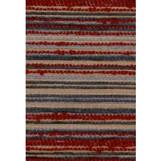 B. Berger Red Stripe  Chenille - 10 Yards