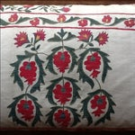 Image of Large Silk Embroidered Pillow