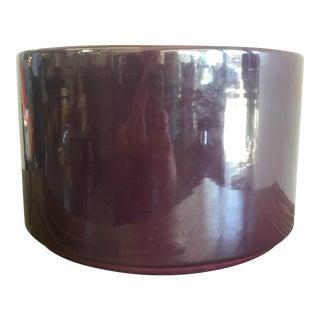Gainey Ceramics Burgundy AC-10 Planter