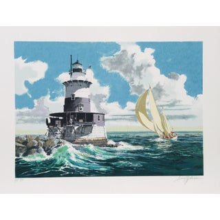 Harry Schaare - The Lighthouse Serigraph