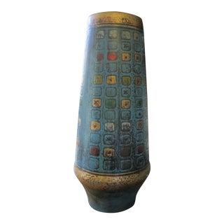 Mid-Century Italian Bitossi Style Vase
