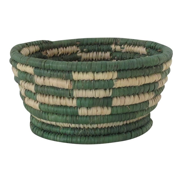 Forest Green Catchall Basket - Image 1 of 3