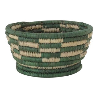 Forest Green Catchall Basket