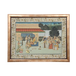 South Asian Mughul Framed Painting