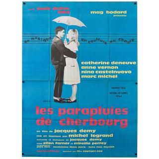 "Catherine Deneuve ""The Umbrellas of Cherbourg"" 1965 French Poster"