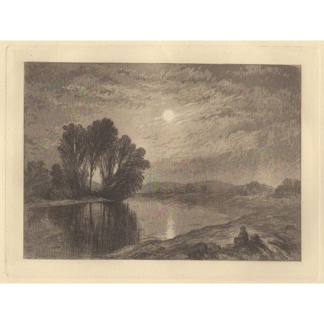 John Henry Hill (1839-1922) Etching c.1880 - Image 1 of 3