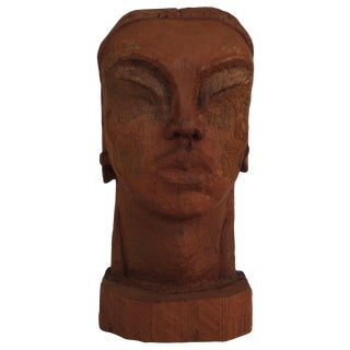Mid 20th Century African Bust
