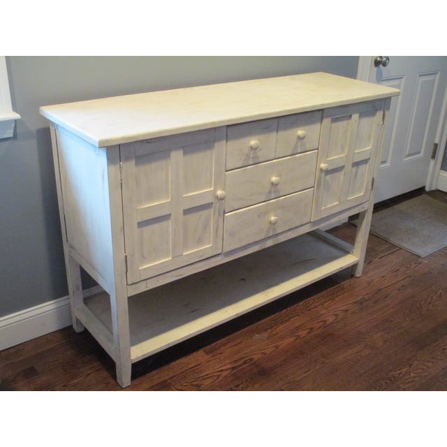 Image of Handpainted Storage Credenza