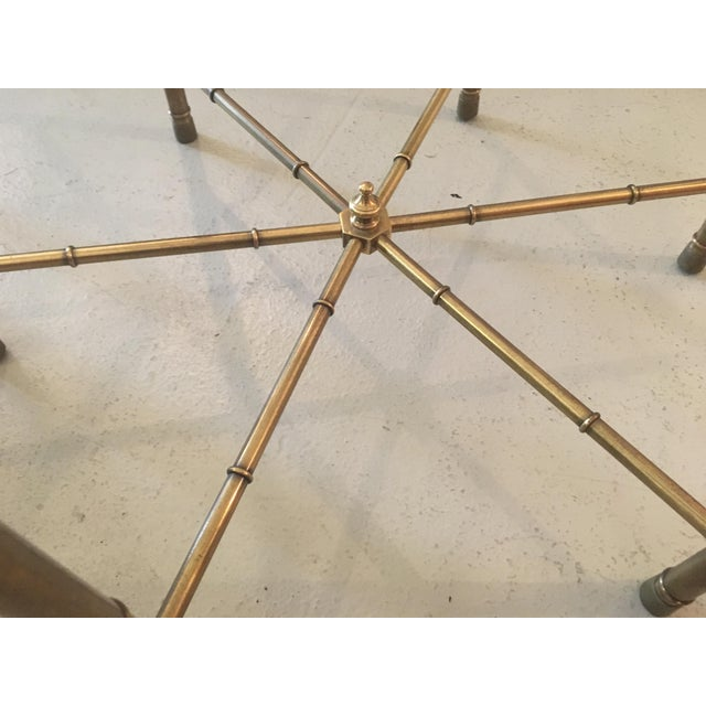 Mastercraft Brass Side Table - Image 4 of 5