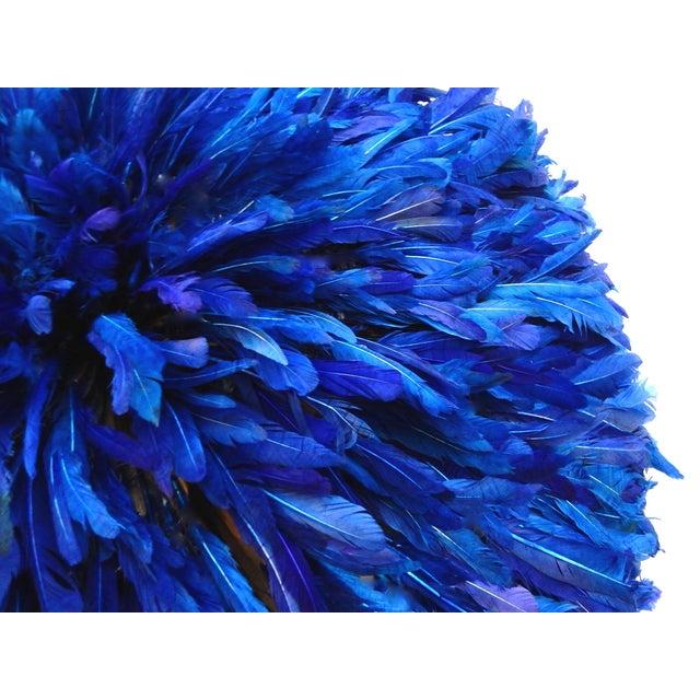 Juju Hat Cobalt Blue African Wall Hanging - Image 2 of 6