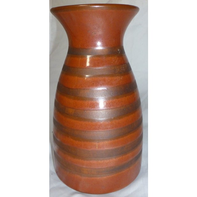 Mid Century Otagiri Japanese Pottery Vase - Image 3 of 6