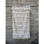 Image of Vintage White Moroccan Wedding Blanket