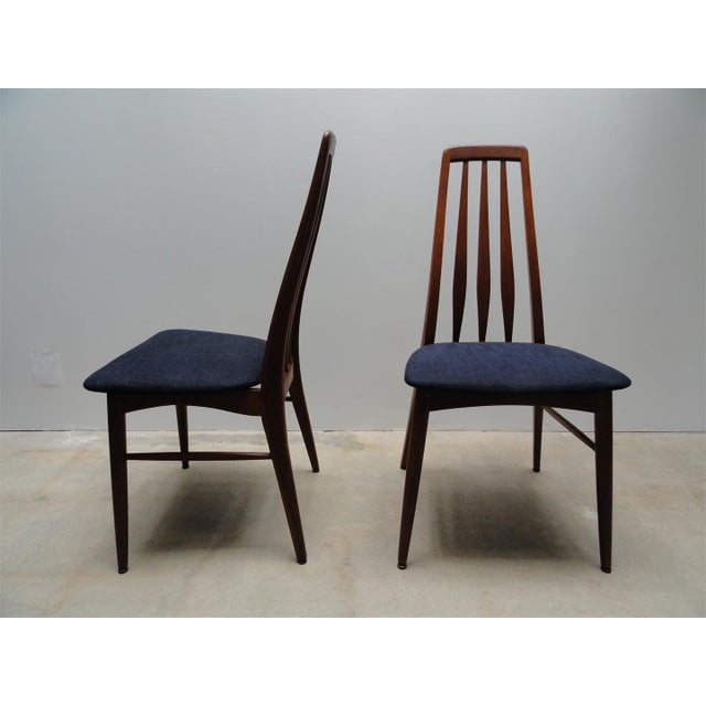 Danish Modern Eva Dining Chairs by Koefoeds Hornslet - Set of 4 - Image 6 of 10