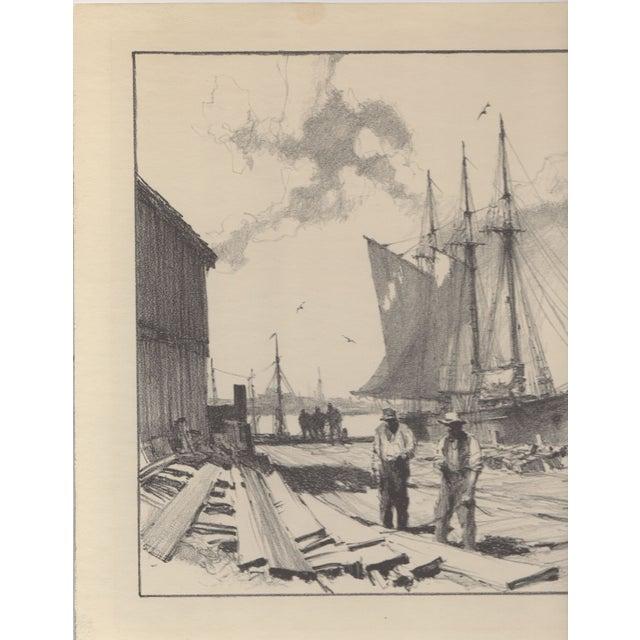 Image of Gordon Grant Lithograph c.1930's