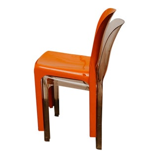 Vico Magistretti Selene Chairs - A Pair