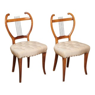 Pair of Early 1940s Side Chairs