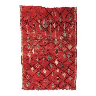 Vintage Moroccan Boujad Rug - 6′ × 8′5″