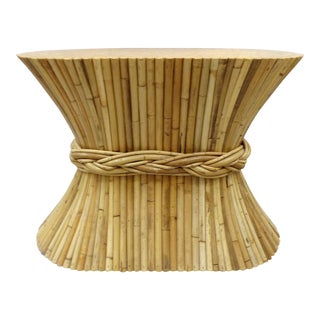 McGuire Rattan Table Base