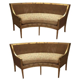 Century Furniture Heirloom Settees - A Pair