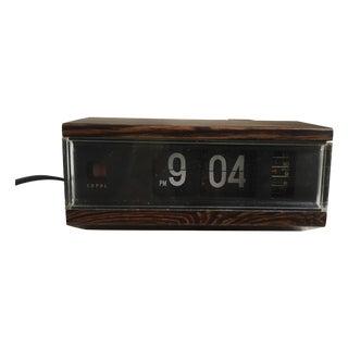 Retro Flip Number Clock