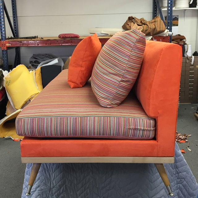 Custom Mid-Century Modern Sofa Lounge - Image 9 of 10