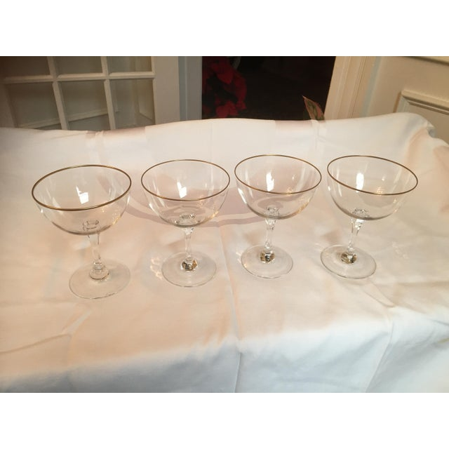 Lenox Crystal Champagne Coupe - Set of 4 - Image 4 of 5