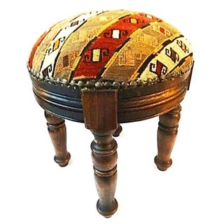 19th Tribal Azeri Fragment Stool