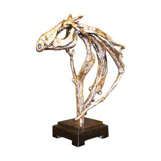 Silver Horse Head Casting
