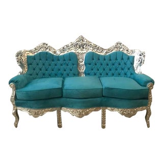 Italian Baroque 3-Seater Sofa