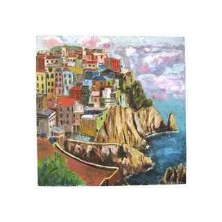 Nilo Da Corta Oil Painting of Amalfi Coast