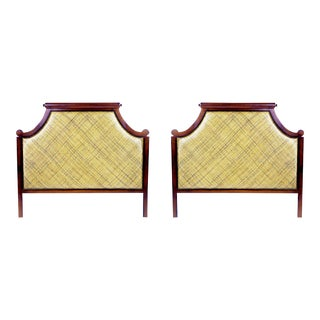 David Francis Twill Headboards - A Pair