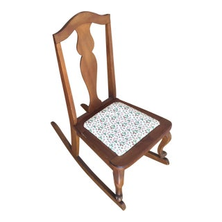 Americana Miniature Sewing Rocking Chair
