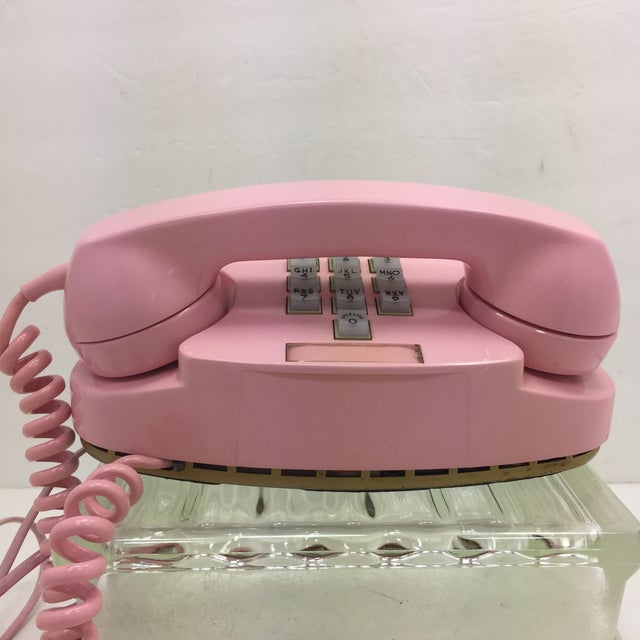 Image of Vintage Pink WE 10-Button Princess Phone