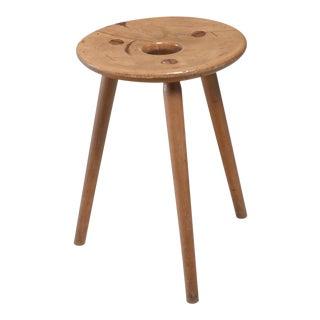Eduard Ludwig 'EL 121' tripod stool, Germany, 1950s