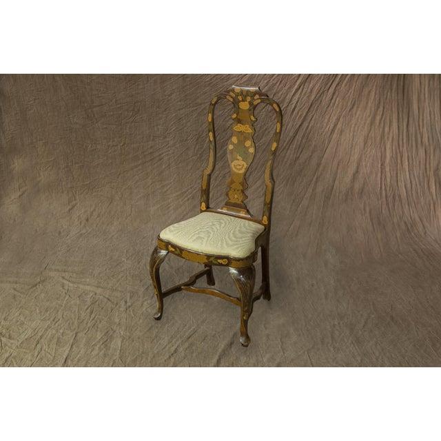 Vintage Sarreid LTD Queen Anne Side Chairs - Set of 4 - Image 3 of 3