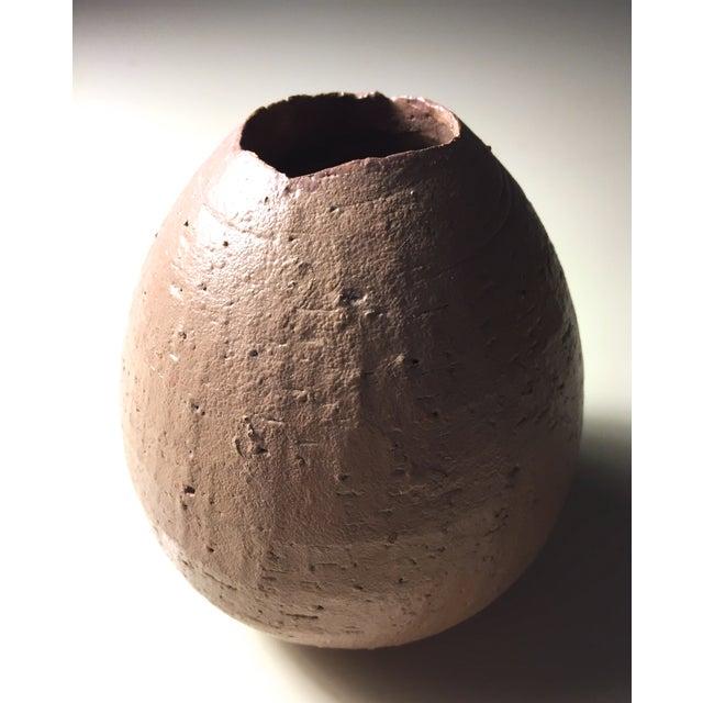 Art Pottery Taupe Bud Vase - Image 4 of 6