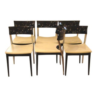 Roche Bobois Modern Dining Chairs - Set of 6