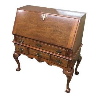Vintage Wellington Hall Secretary Desk