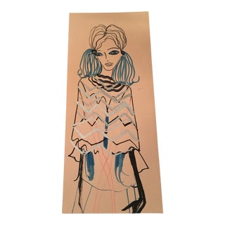Original Fashion Illustration by Tanya Ling