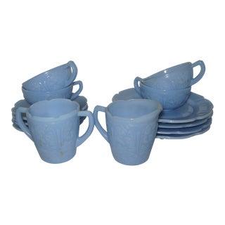 Vintage Delphite Children's Tea Set - 14 Pieces