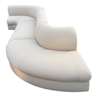 "Vladimir Kagan Serpentine ""Snake"" Sectional - 3 Pieces"