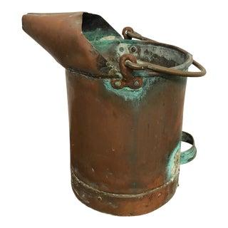 Antique French Copper Pail