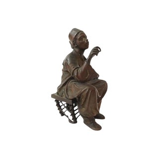 19th Austrian Orientalist Bronze Figure