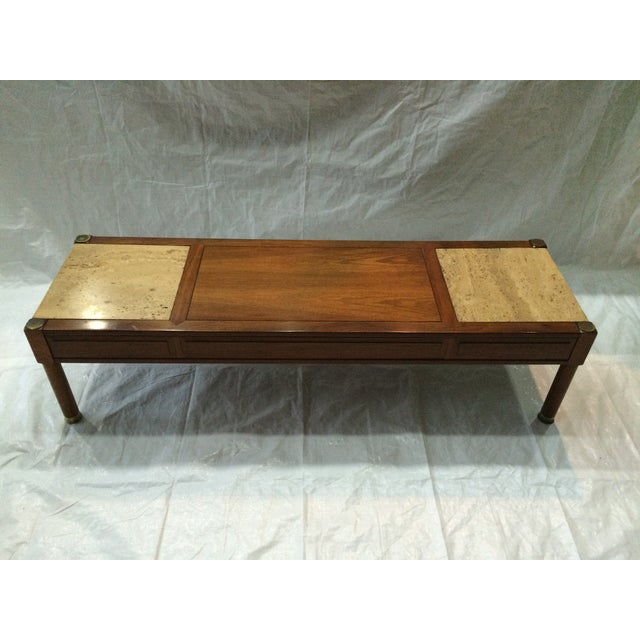 Mid Century Coffee Table By Heritage Chairish