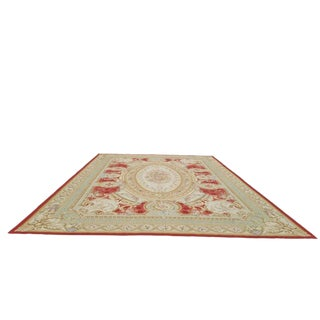 Traditional Aubusson Handmade Rug - 13' X 20' Size Cat. 12x18 13x20