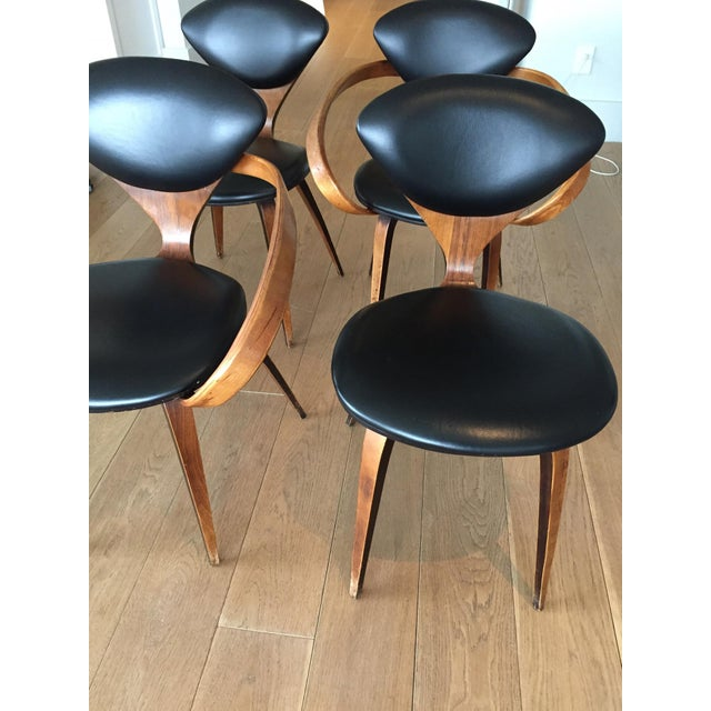 Norman Cherner Antique Chairs - Set of 4 - Image 3 of 11