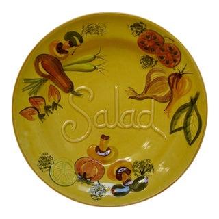 Vintage Pottery Serving Bowl