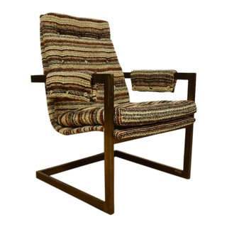 Mid-Century Modern Bronze Lounge Chair