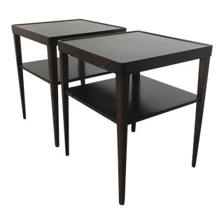 Widdicomb Walnut Side Tables - A Pair