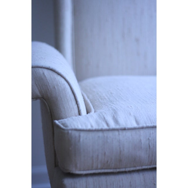Image of Italian Wingback Chair